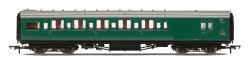 Maunsell Six Compartment Brake Second Corridor (High Windows) S2763S BR Green