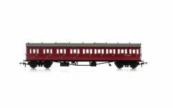Collett 'Bow Ended' E131 Nine Compartment Composite Left Hand W6237W BR Crimson