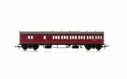 Collett 'Bow Ended' D98 Six Compartment Brake Third Right Hand W4951W BR Crimson