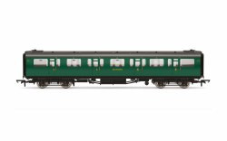 Bulleid 59' Composite Corridor 5711 SR Malachite Green