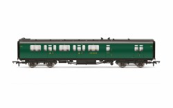 Bulleid 59' Brake Third Corridor 2845 SR Malachite Green
