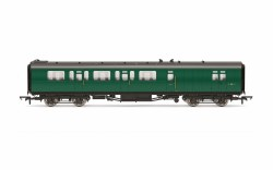 Bulleid 59' Brake Third Corridor S2851S BR Green