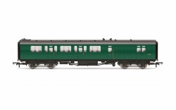 Bulleid 59' Brake Third Corridor S2859S BR Green
