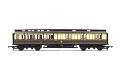D29 'Clerestory' Brake Third Corridor 3403 GWR Chocolate & Cream