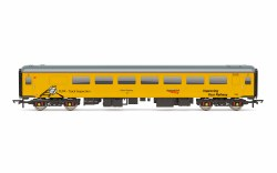 Mk2F Plain Line Pattern Recognition Vehicle 72631 Network Rail Yellow