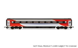 Mk3 TF Trailer First (Open) (HST) 41120 LNER (2018+) Red & Silver