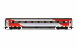 Mk3 TF Trailer First (Open) (HST) 41150 LNER (2018+) Red & Silver