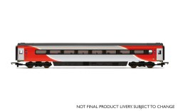 Mk3 TSD Trailer Standard Disabled (HST) 42091 LNER (2018+) Red & Silver