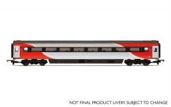 Mk3 TS Trailer Standard (Open) (HST) 42154 LNER (2018+) Red & Silver