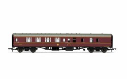 Mk1 BSK Brake Second Corridor 99723 Hogwarts Red