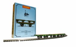 L&MR, Flat Bed Wagon Pack - Era 1