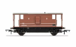 BR (ExLMS), 20 T Brake Van, B950040 - Era 4