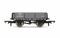 3 Plank Wagon, LMS - Era 3