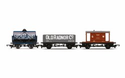 Triple Wagon Pack, Mixed Wagons with Brake Van - Era 3