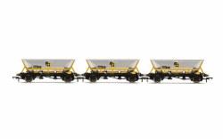 HAA Hopper Wagons, Three Pack, BR Coal Sector - Era 8