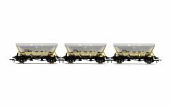 HFA Hopper Wagons, Three Pack, BR Coal Sector - Era 8