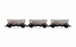 HFA Hopper Wagons, Three Pack, EWS - Era 9