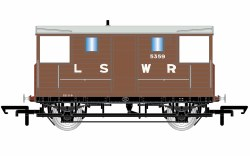 LSWR 20T 'New Van' Goods Brake Van 5359