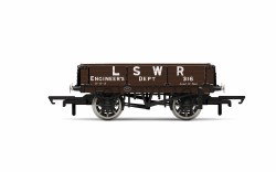 LSWR, 3 Plank Wagon, LSWR Engineers 316 - Era 2