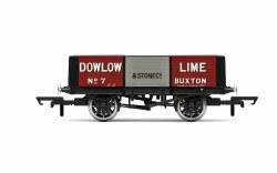 Dowlow Lime, 5 Plank Wagon, No. 7 - Era 2/3