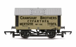 Crawshay Brothers, 8T Lime Wagon, No. 136 - Era 2/3
