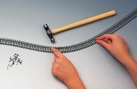 Semi-flexible track 915mm