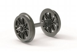 Split Spoked Wheels