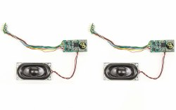 TTS Sound Decoder Class 43 HST (MTU) Twin Pack (8 Pin)
