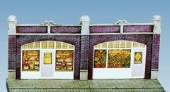 Station Forecourt Shops including printed interiors