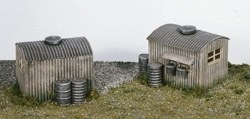Lamp Huts with Oil Drums 2