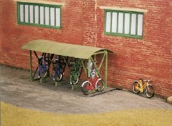 Bicycle Shed and Bicycles