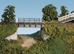 Occupational Bridge and Stone Abutments Single Track