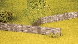 Feather Edge Board Fencing including gates