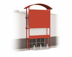 Out of Town Store Frontage Kit