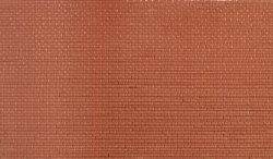 Brickwork Plain Bond 4 sheets 75x133mm per pack