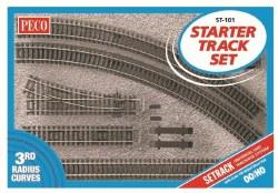 Setrack OO Starter Track Set 3rd Radius