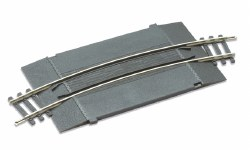 No.2 radius Curved Add-on Track Unit for level crossing