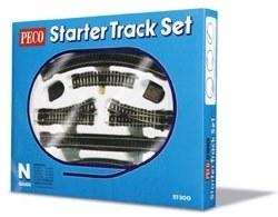 Starter Track Set 1st Radius Curves