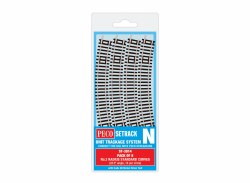 Standard Curve, 2nd Radius (Pack of 8)