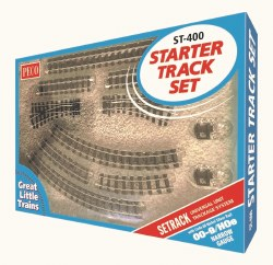 Starter Track Set OO9 1st Radius Curves