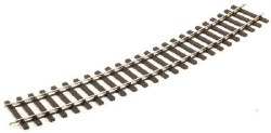 Setrack O Gauge Bull head 2nd Radius Standard Curve