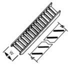 Stairway STAS-2 H:2.4mm W:5.6mm Length:75mm Scale:N 1:200 (Pack of 2)