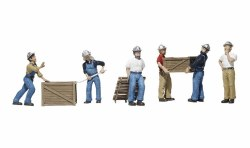 Dock Workers (HO Scale)
