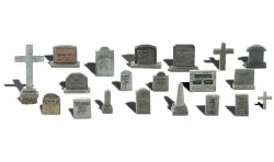 Tombstones (HO Scale)