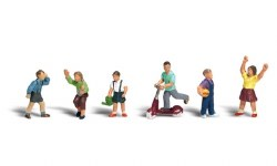 Children (HO Scale)