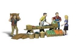 Farmers Market (HO Scale)
