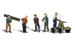 Rail Workers (HO Scale)