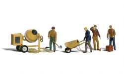 Masonry Workers (HO Scale)