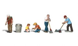 Lawn Workers (HO Scale)