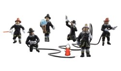 Rescue  Firefighters (HO Scale)